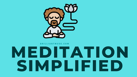 Meditation Simplified - Infographic