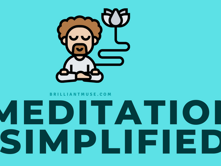 [INFOGRAPHIC] Meditation Simplified