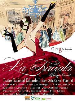 La Traviata  Plakat