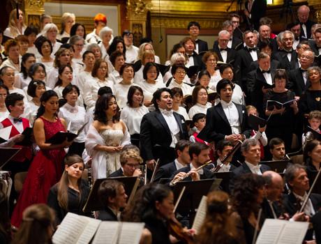Beethoven 9th symphony Musikverein Wien ©David Moser