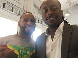 Mitchell Brunings (Bob Marley) & Kenny Seymour