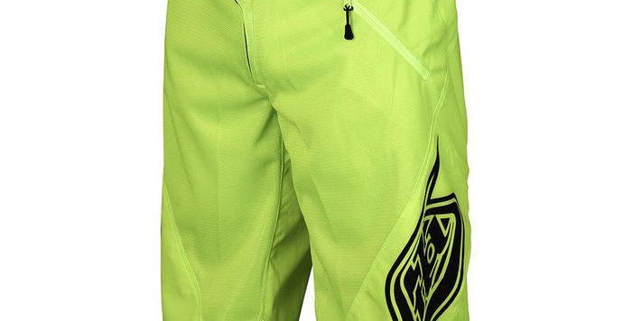 Troy Lee Sprint shorts, yellow