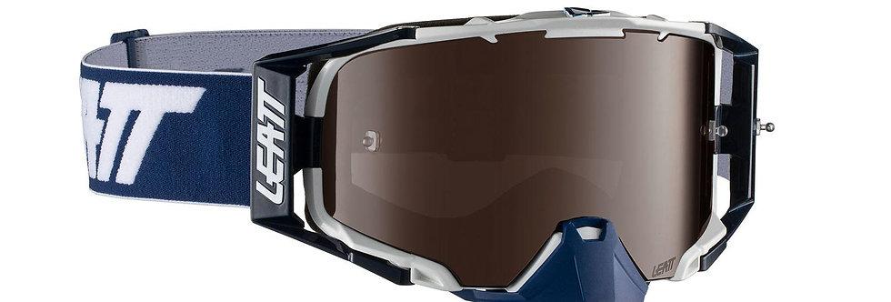 Leatt 6.5 briller hvit/blå