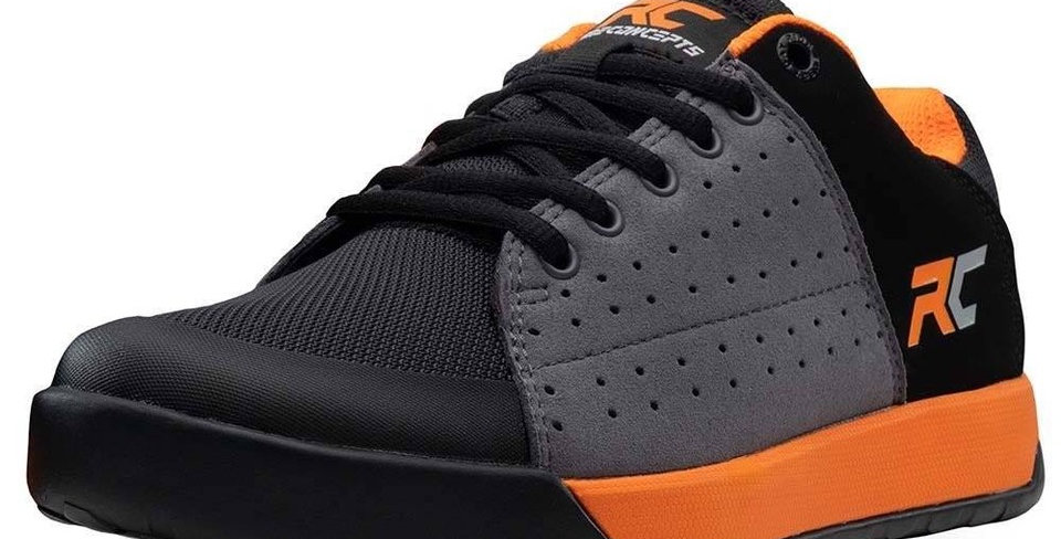 Ride Concepts Livewire Flat Charcoal/Orange
