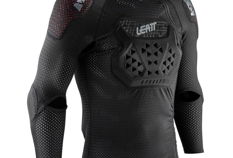 Leatt Airflex Stealth Beskyttelse-jakke Adult