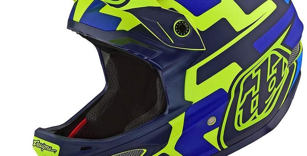 TroyLeeDesign D3 Speedcode yellow/blue