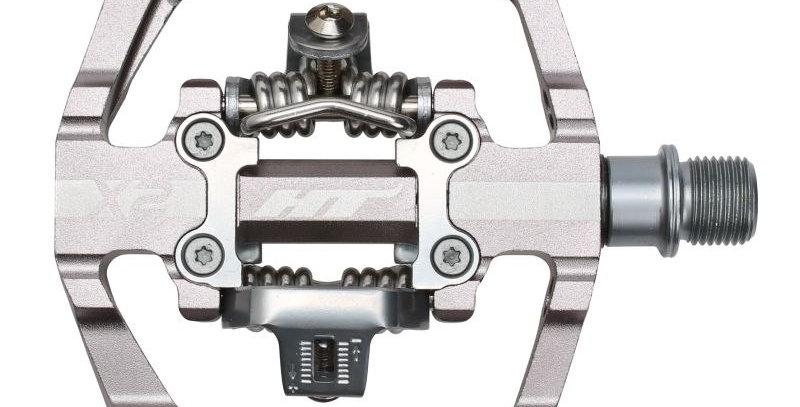 HT X-2 SX BMX Pedal Silver