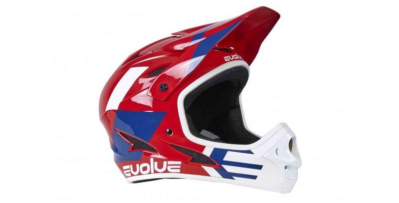 Evolve Storm helmet Red