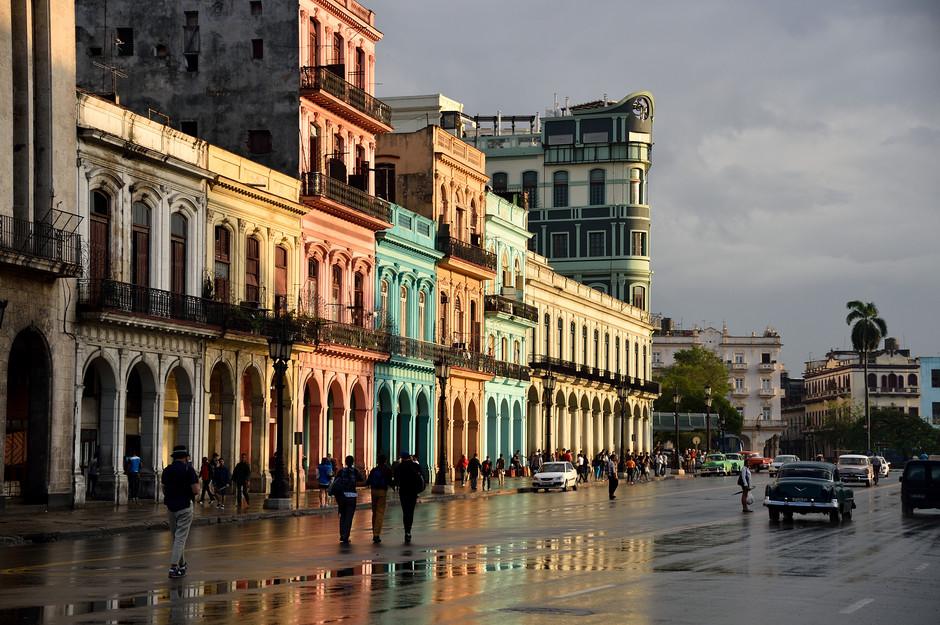 Paseo de Marti, Havana, 2016
