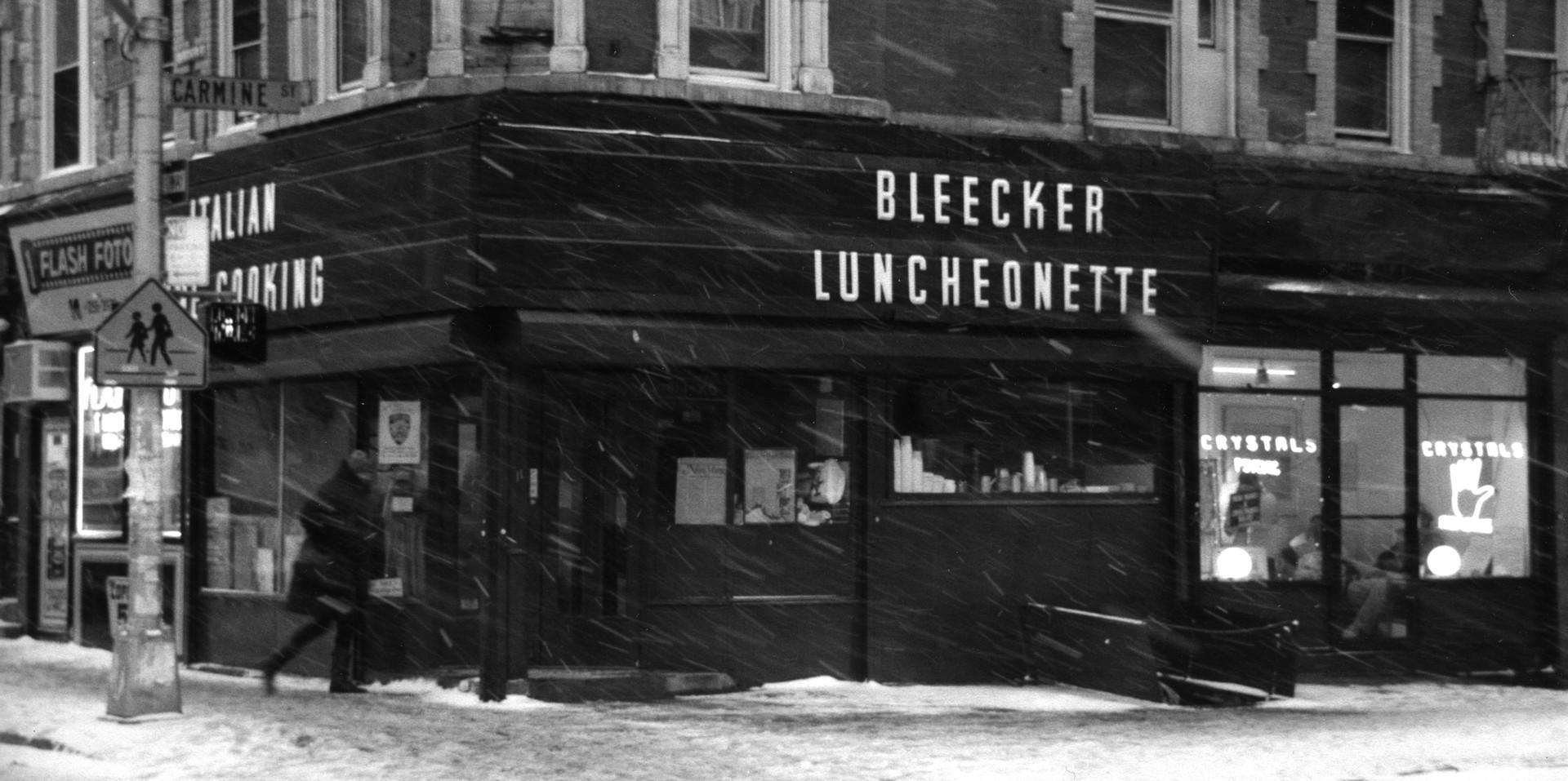 Bleeker Luncheonette, 1990