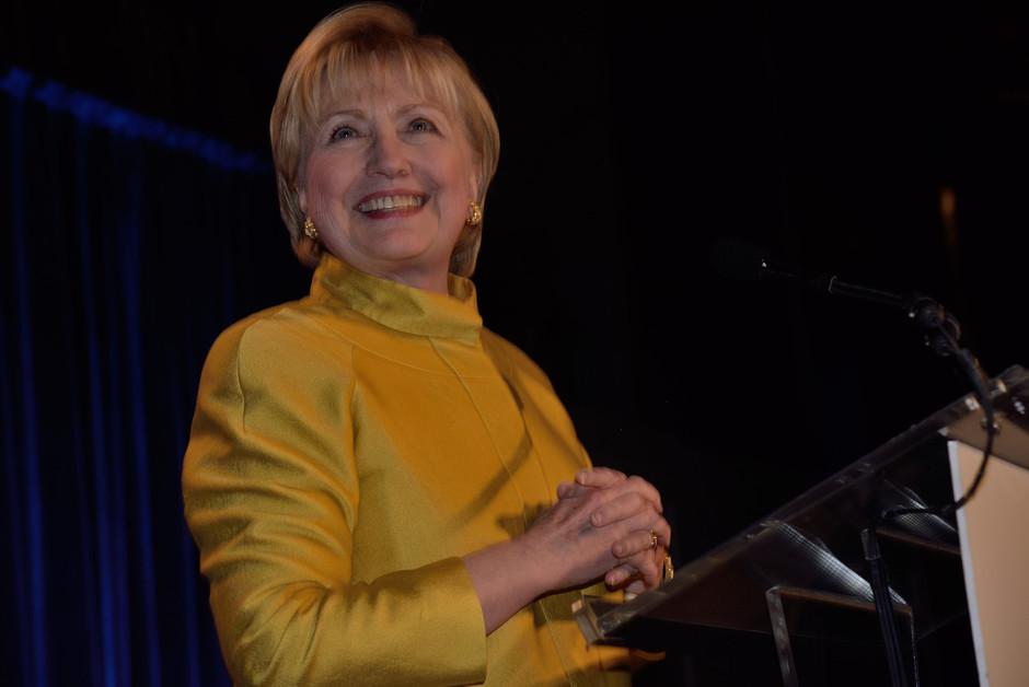 Hillary Clinton, Center Dinner, 2017