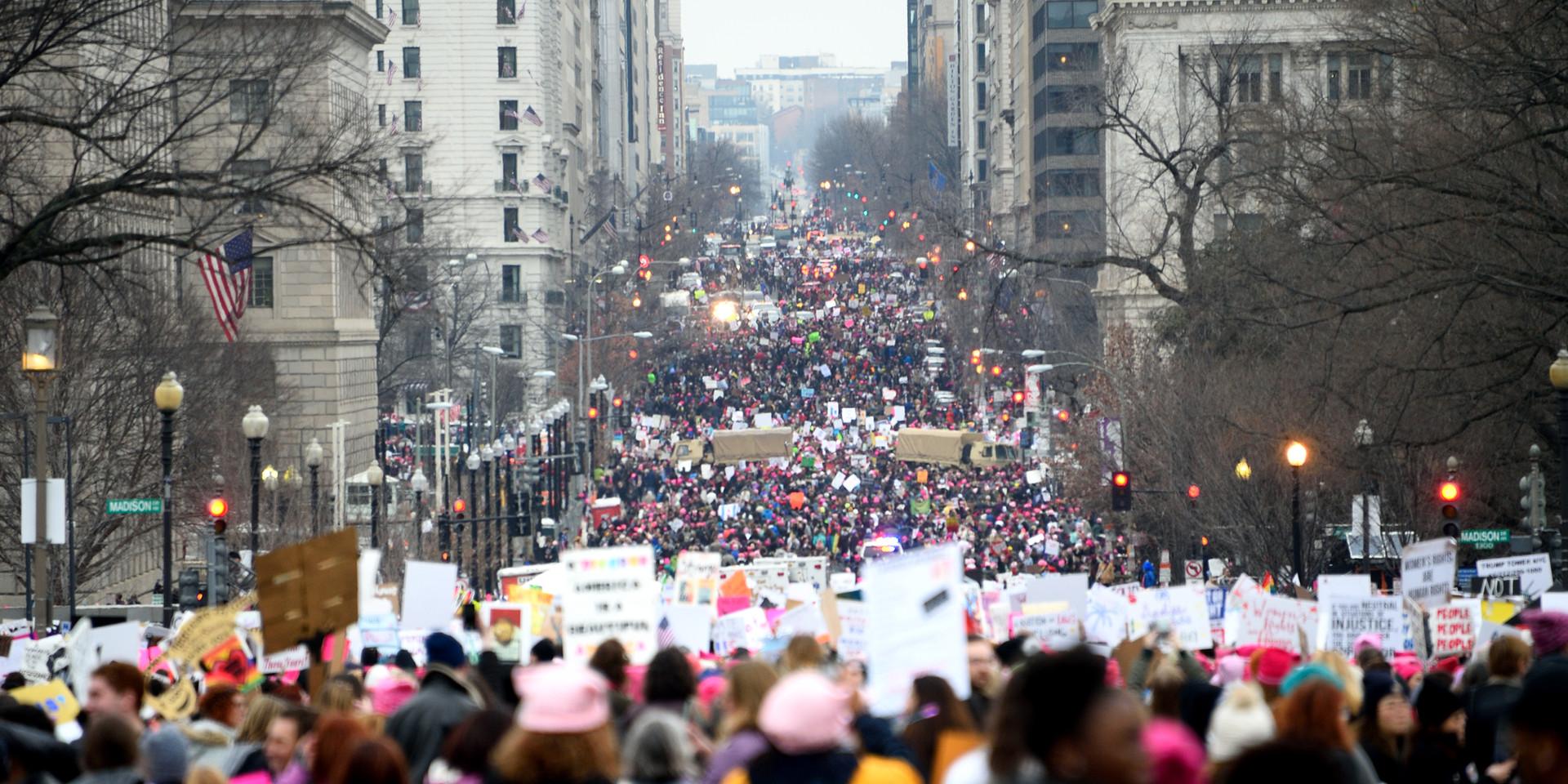 Women's March, Washington DC, 2017
