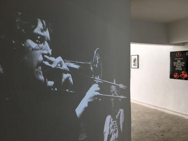 Diaporama, musicians in jazz club
