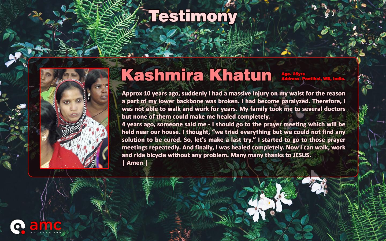 Kashmira Khatun
