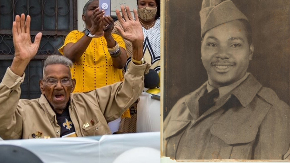 Lest We Forget: Oldest Living WW2 Veteran Celebrates 112th Birthday