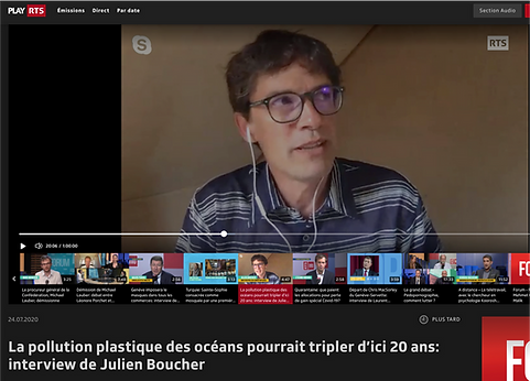 La pollution plastique des océans pourrait tripler d'ici 20 ans: interview de Julien Boucher
