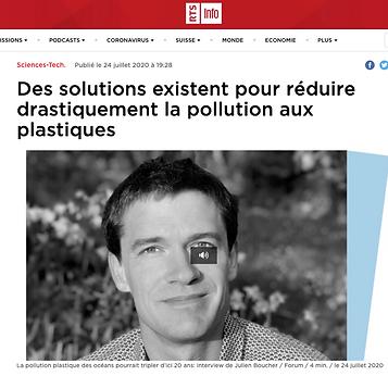 Des solutions existent pour réduire drastiquement la pollution aux plastiques