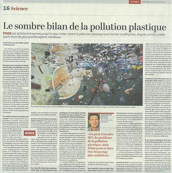 Le sombre bilan de la pollution plastique