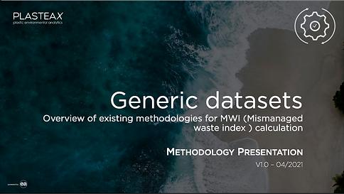 Generic dataset