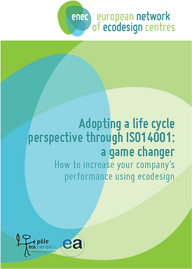 Adopting a life cycle perspective through ISO14001: a game changer