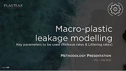 Macro-plastic leakage modelling