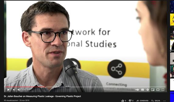 Dr. Julien Boucher on Measuring Plastic Leakage - Governing Plastic Project