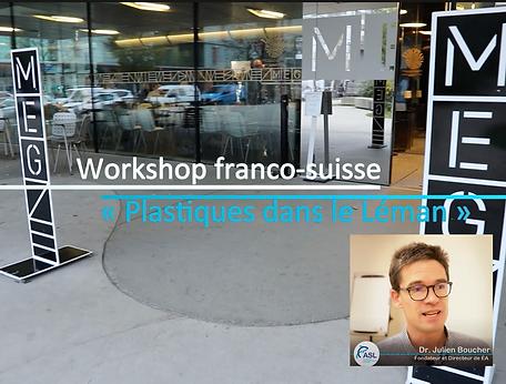 Workshop franco-suisse sur les plastiques dans le Léman