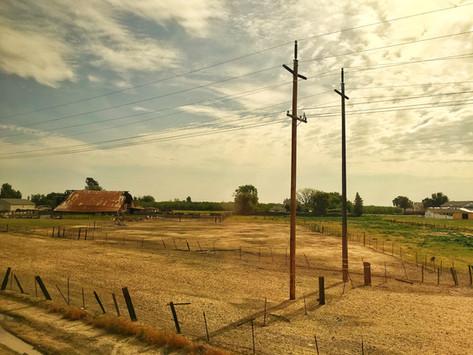 PHOTO:  The American West Through An Amtrak Window