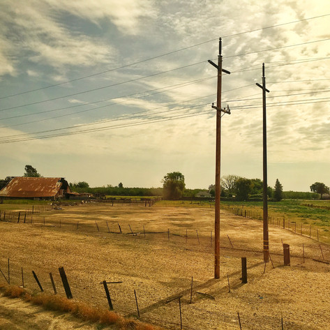 PHOTO:  The American West Through An Amtrak Window