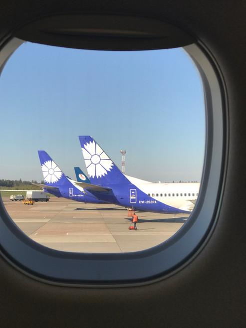 REVIEW:  Belavia Economy Class Minsk - Paris