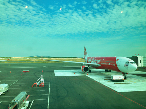 REVIEW:  AirAsia X Premium Class Kuala Lumpur - Kathmandu