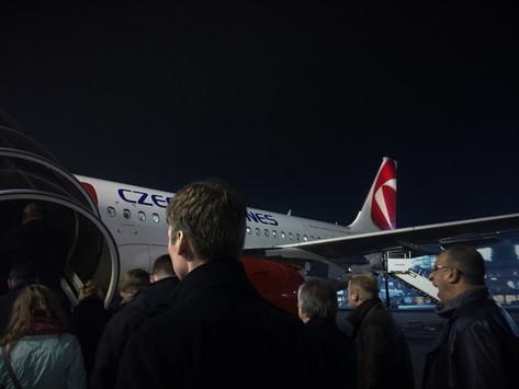 REVIEW:  Czech Airlines Economy Class Frankfurt - Prague