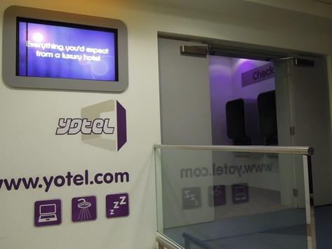 REVIEW:  YOTEL London Heathrow Airport Premium Cabin