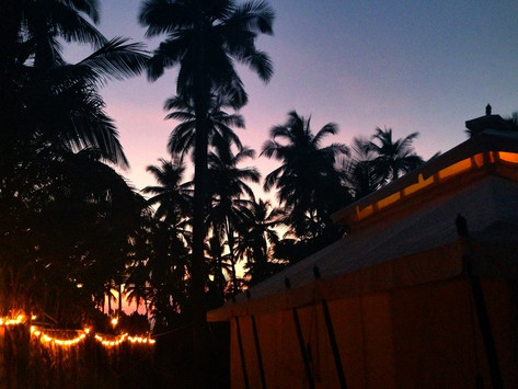 REVIEW:  Amarya Shamiyana (Goa, India)