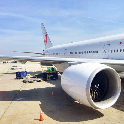 REVIEW:  Japan Airlines First Class Chicago - Tokyo
