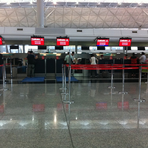 REVIEW:  Emirates Business Class Hong Kong - Bangkok