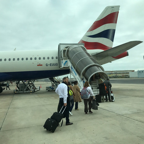 "REVIEW:  British Airways ""Buy On Board"""