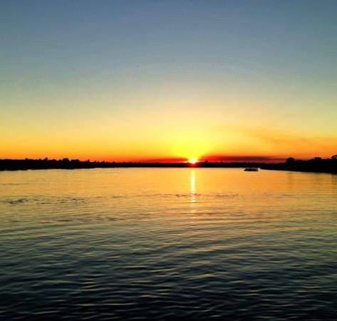 DESTINATION:  Sunset Cruise on the Zambezi River