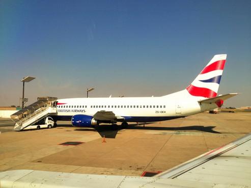 REVIEW:  British Airways / Comair Economy Class Johannesburg - Livingstone, Zambia