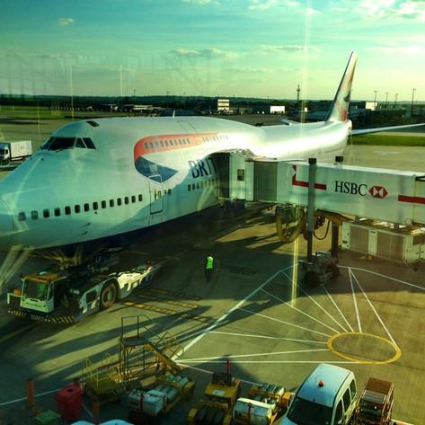 REVIEW:  British Airways Economy Class London - Johannesburg