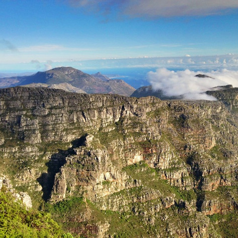 PHOTO:  Table Mountain to Camps Bay (Cape Town, South Africa)