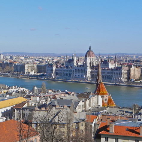 PHOTO:  Dashing Through Budapest