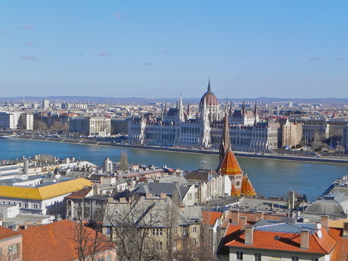 PHOTO:  Dashing Through Budapest