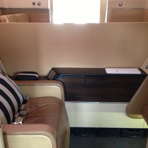 REVIEW:  Etihad First Class Abu Dhabi - New York