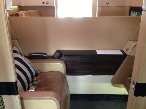 REVIEW:  Etihad First Class Abu Dhabi - New York