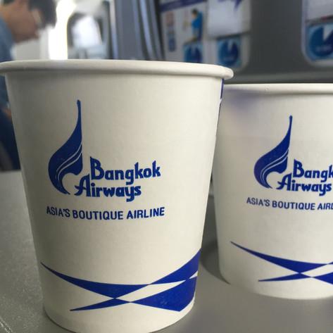 REVIEW:  Bangkok Airways Economy Class Bangkok - Luang Prabang