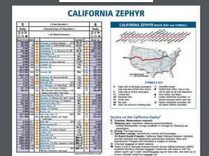 Map Of California Zephyr Route.Review Amtrak California Zephyr San Francisco To Chicago