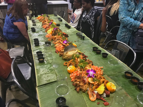 FOOD:  How To Survive A Filipino Boodle Fight