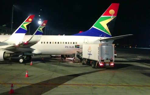 REVIEW:  South African Airways Economy Class Johannesburg - Cape Town