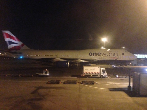 REVIEW:  British Airways World Traveller Plus London Heathrow - Mumbai